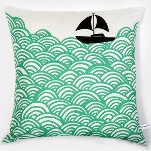 Lu West Throw Pillow * Bigger Boat