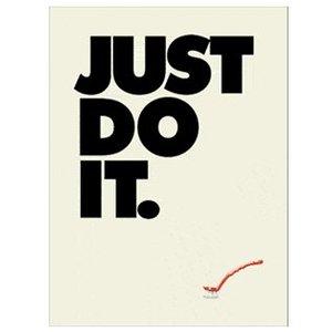 Twisted Twee Theedoek Just do it
