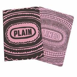 Sukie Notitieboek lined plain roze