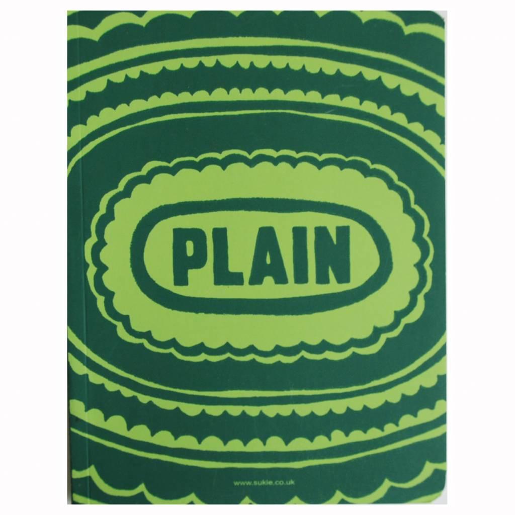 Sukie * Notebook * lined plain green