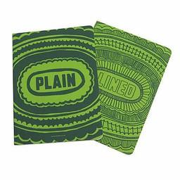 Sukie Notitieboek lined plain groen