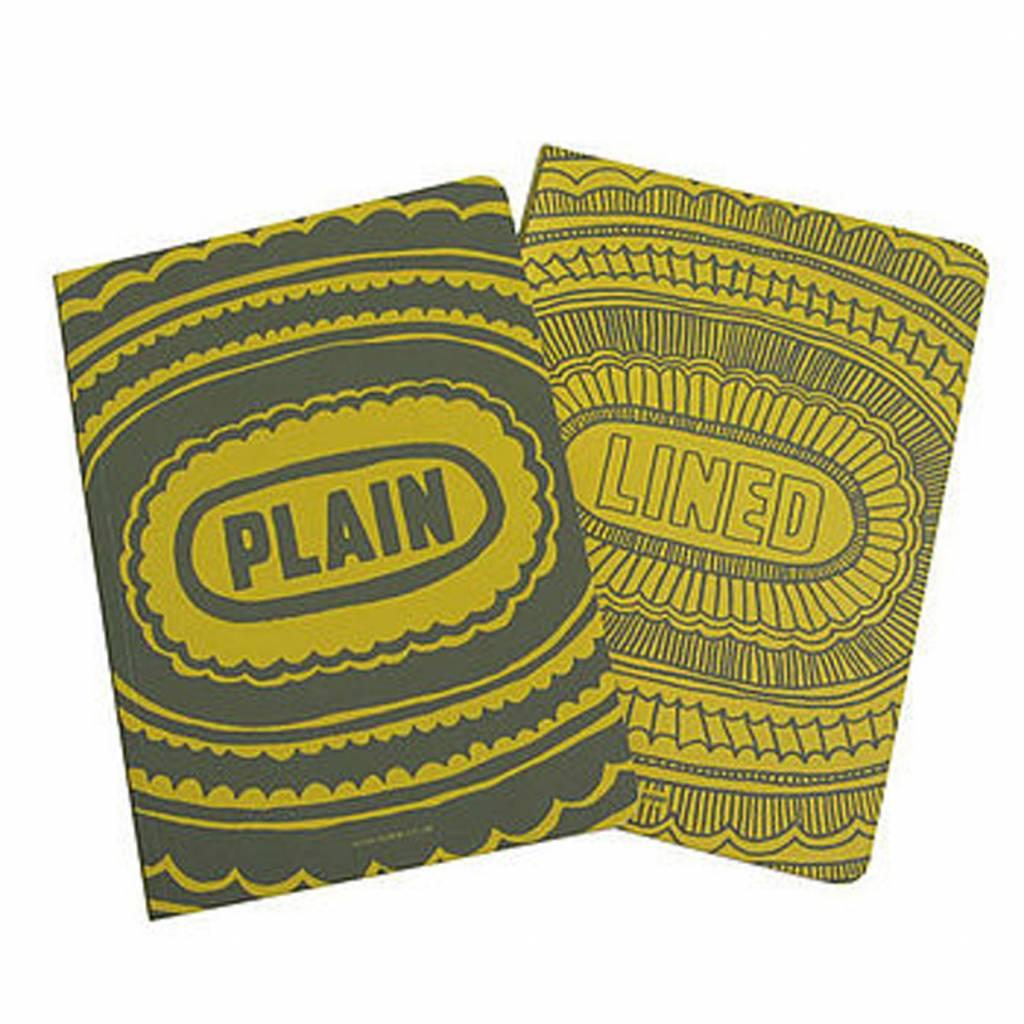 Sukie * Notebook * lined plain geel