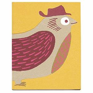 Sukie Notitie- schetsboek vogel