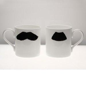 Peter Ibruegger Mug * Moustache Mustafa - Chaplin
