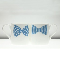 Peter Ibruegger Mug * Bow Tie Mark - Jeffrey