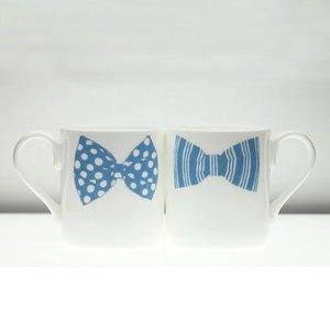 Peter Ibruegger Mug * Bow Tie Mark - Jeffrey