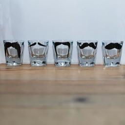 Peter Ibruegger Shot glasses * Moustache