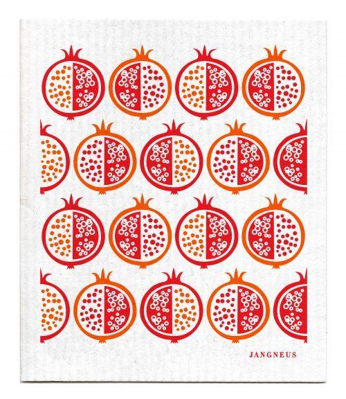 Jangneus Dishcloth Pomegranate