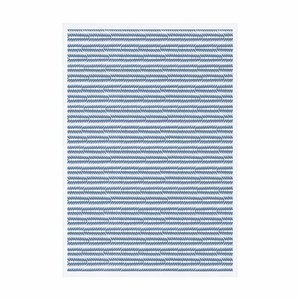 Ekelund Tafellaken Tinas Råg blauw