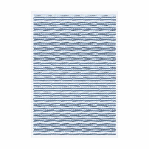 Ekelund Table cloth Tinas Rag Blue