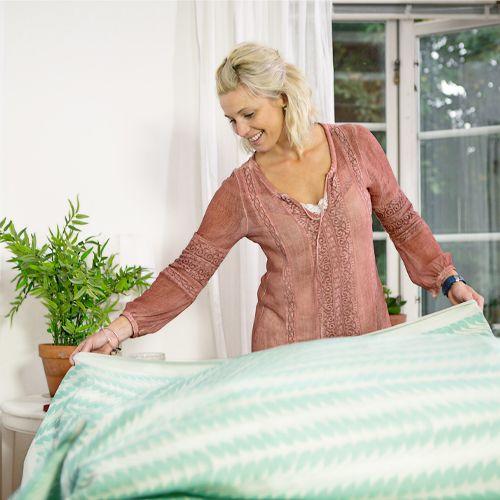 Ekelund Table cloth Tinas Rag Green