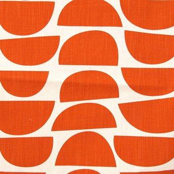 Wonderbaarlijk Stof Bowls rood-oranje van Skinny laMinx - design fabrix DO-61