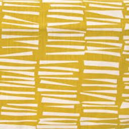 Skinny laMinx Stof Coupon woodpile pollen geel (0,7 x 0,5 m)
