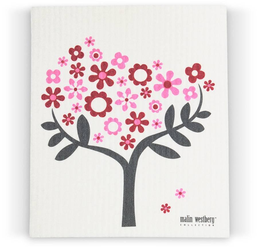 Malin Westberg Vaatdoek Bloemenboom