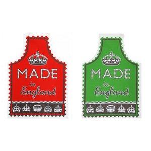 Mary Fellows - Pintuck Pintuck Keukenschort Made in England