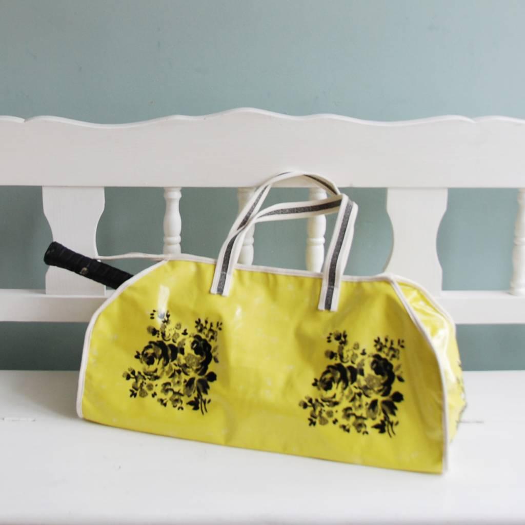 Lisa Stickley Weekend bag flowers