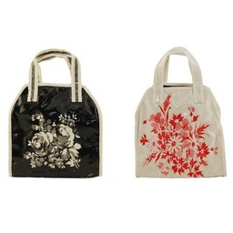 Lisa Stickley Handbag Flowers Ivy