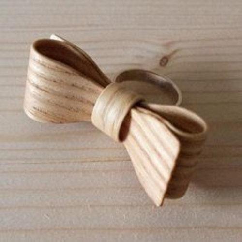 Hring eftir hring Ring Wooden bow