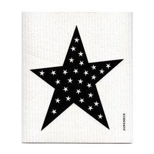 Jangneus Dishcloth Black Star