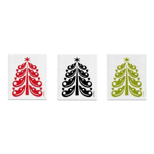 Jangneus Dishcloth Christmas tree