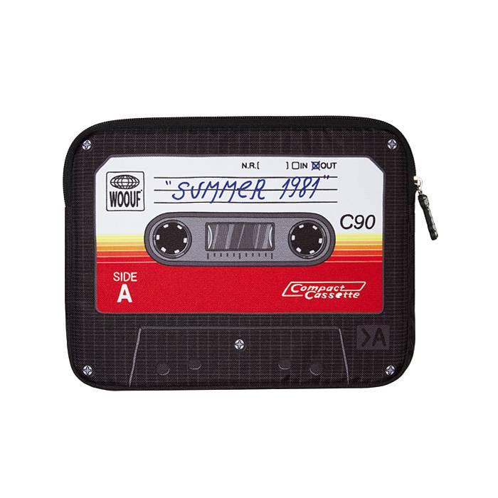 Woouf! Ipad sleeve Cassette bandje