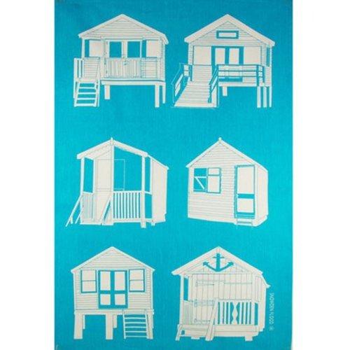 Snowden Flood Tea towel Beach houses