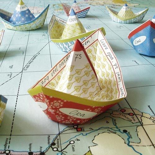 Jurianne Matter DIY Decoration wish boats
