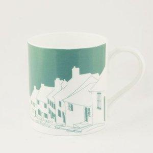 Snowden Flood Mug Cute village