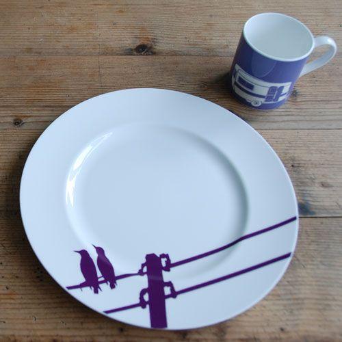 Snowden Flood Plate Birds on a wire