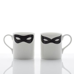 Peter Ibruegger Mok Masker Zorro - Robin