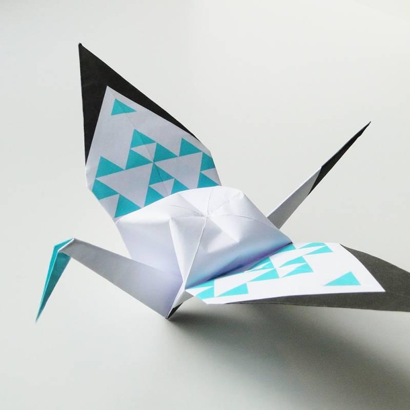 Origamizoo DIY Kraanvogel