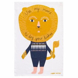 Donna Wilson Tea towel Use my mane
