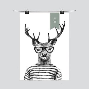 Design Jungle Poster Deer