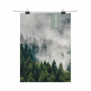 Design Jungle Poster Green Forest
