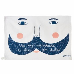 Donna Wilson Theedoek Use my moustache