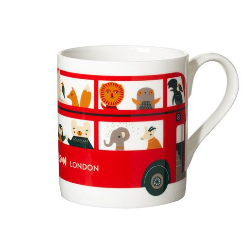 Donna Wilson London bus Mug