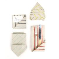 Napkins Simple Stripe