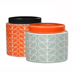 Orla Kiely Storage Jar Linear Stem