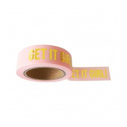 Studio stationery Washi tape Get it girl