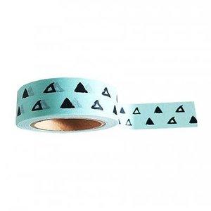 Studio stationery Washi tape Minty triangle