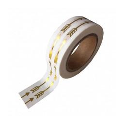 Studio stationery Washi tape Gold foil arrow