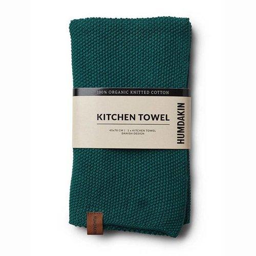 Humdakin kitchen towel blue - green