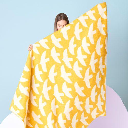 Kauniste Blanket Lintuset