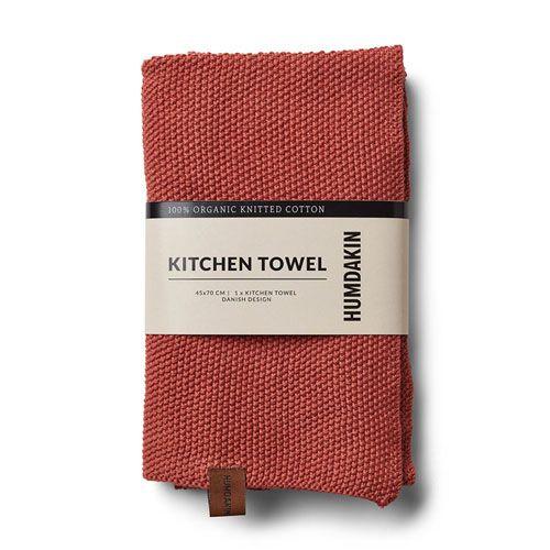 Humdakin Humdakin kitchen towel pink - red