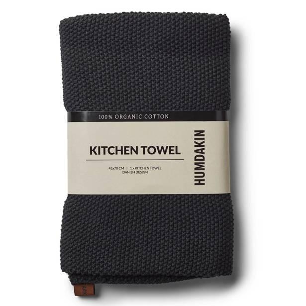 Humdakin kitchen towel blue - grey - black