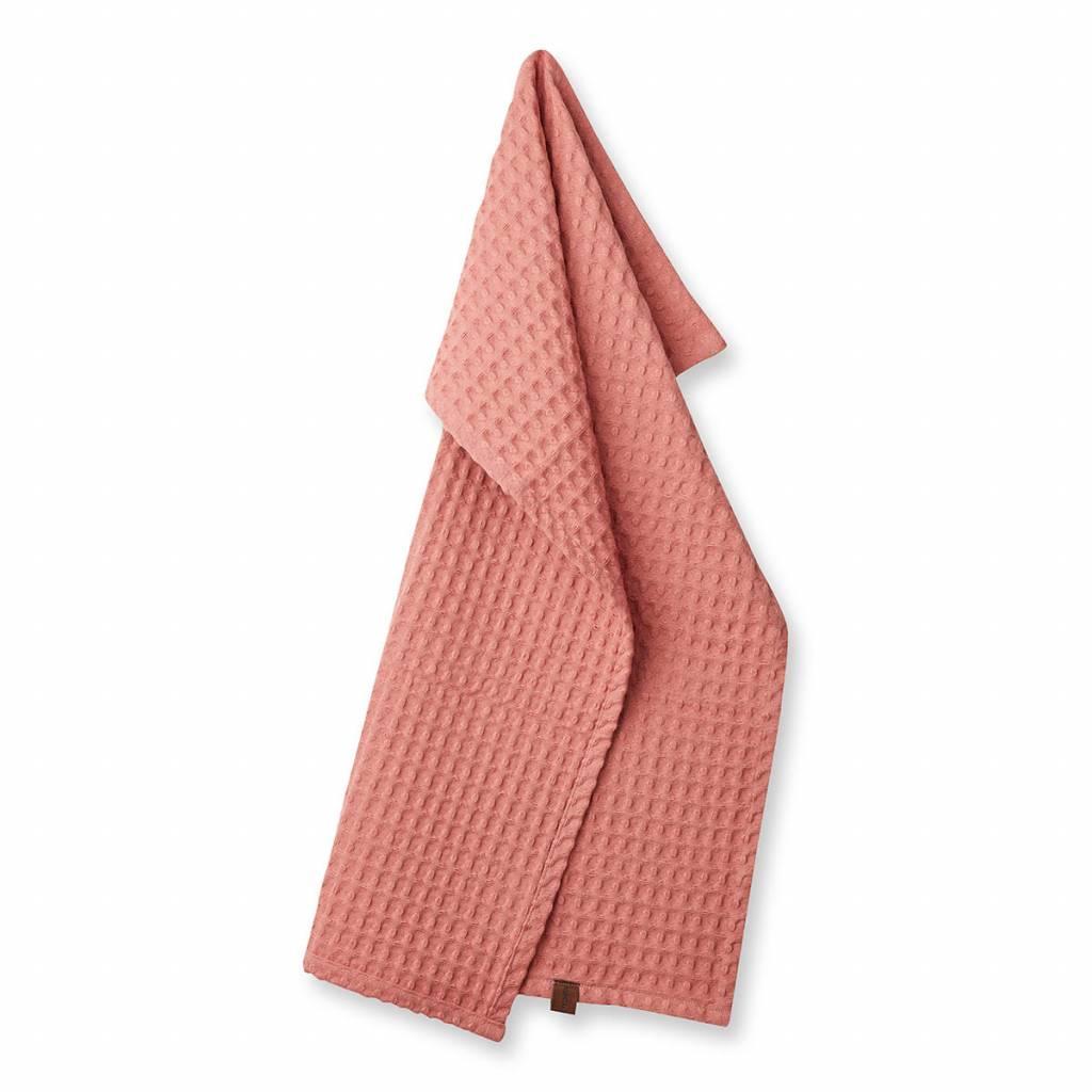 Humdakin Wafeldoek Roze Rood