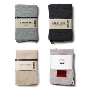 Humdakin kitchen towel grey  - black