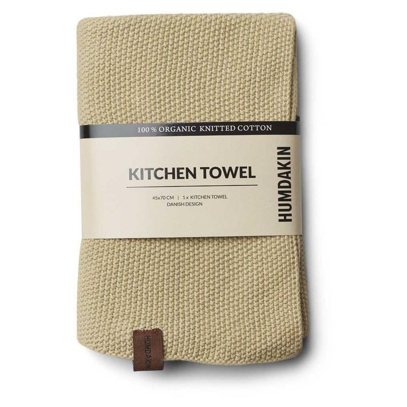 Humdakin Humdakin knitted kitchen towels brown shades