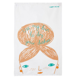 Donna Wilson Tea towel Use my bun