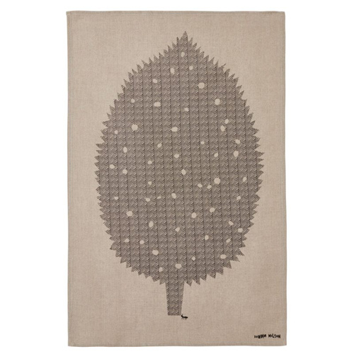 Donna Wilson Tea towel Leaf